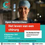 Inschrijving open masterclass: Het leven van een chirurg